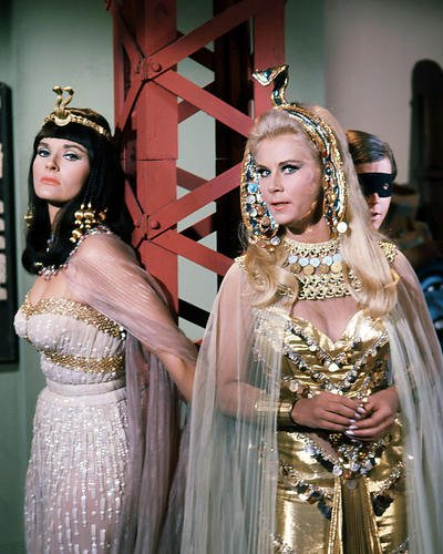 Whitney Series - Batman TV Series 8x10 Promotional Photograph Grace Lee Whitney as Neila Lee Meriwether as Cleopatra