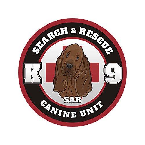 1080GPHX Bloodhound SAR K-9 Search Rescue Dog Unit Vinyl 4