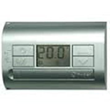 Finder serie 1t - Termostato pared electronico azul metalico con ...
