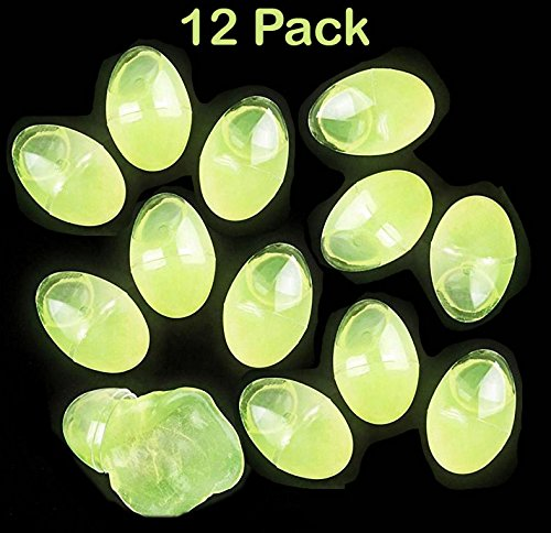 Katzco Easter Glow in the Dark Putty Eggs - 12 Pack Green, Great Toy For Any Child Favor, Gift, Birthday, - By by Katzco