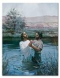 SmartWallArt - Religious Spiritual Beliefs Paintings Christian Jesus Goddess Virgin Mary Church RSB01P041 Pictures for Living Room Home Decor