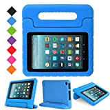 Fire 7 2015/2017 Case,Kindle fire 7 case for Kids,Ocuya Kids Shock Proof Protective