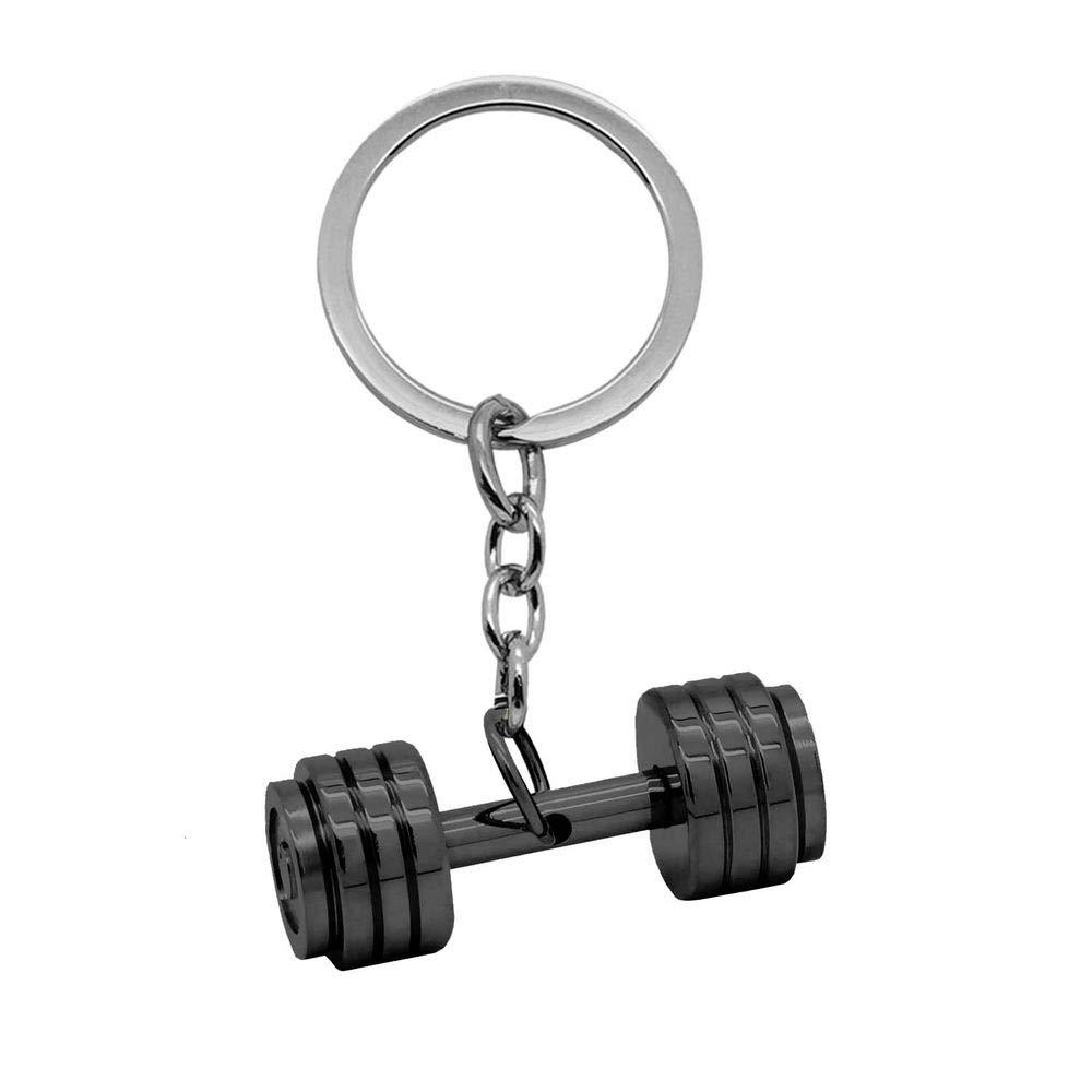 tumundo Llaveros + Caja de Regalo Chiave Peso Fitness Guantes de Boxeo Llavero-Coche Clave Colgante Acero Deporte Hombre