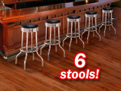 commercial grade swivel bar stool - 7