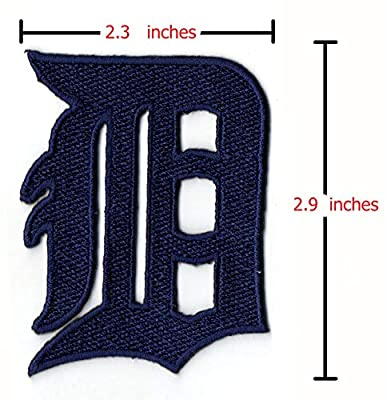 Detroit Tigers MLB Iron on Patches Embroidered Applique Badge Emblem