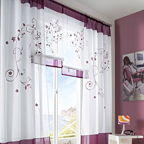 Cortinas para habitacion modernas for Cortinas estampadas salon