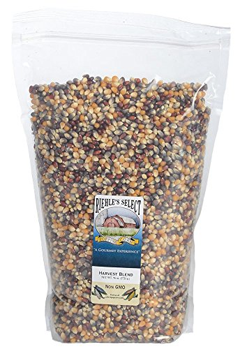 Harvest Select (Riehle's Select Popping Corn - Harvest Blend Old Fashioned Whole Grain Popcorn - 6lb (96oz) Resealable Bag - Non GMO, Gluten Free, Microwaveable, Stovetop and Air Popper Friendly)