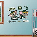 MLB Oakland Athletics Baby Mascot Fathead Wall Decal, Real Big