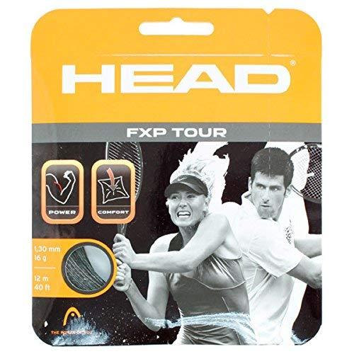 Head FXP Tour 16 Tennis String Black