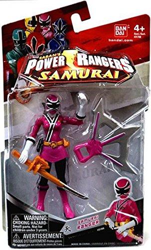 Power Rangers Samurai Action Figure Samurai Ranger Sky (Pink), 4 Inch