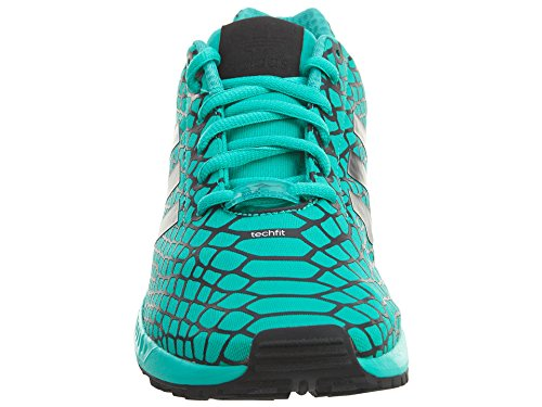 Adidas Zx Flux Techfit Mens Kärna Svart / Chock Mint
