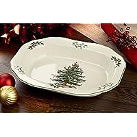 Plato de verduras abierto Spode Christmas Tree, 1 11-1 /2-inch