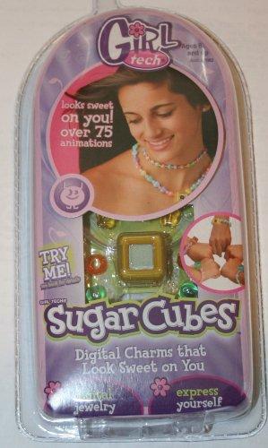 Girl Tech Sugar Cubes Digital Charms Character (Cube Radica)
