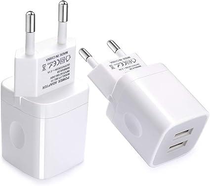 Amazon.com: Vifigen - Cargador de pared universal USB 2.1AMP ...