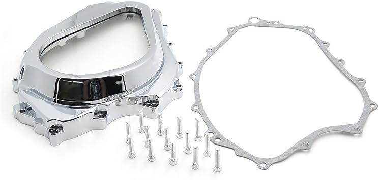 Chrome Custom Cluctch Engine Cover For 2004-2007 Honda CBR 1000RR w// gasket