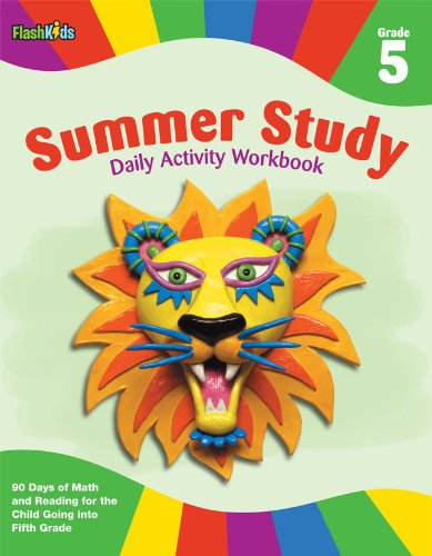 Summer Study Daily Activity Workbook: Grade 5 (Flash Kids Summer Study) ebook