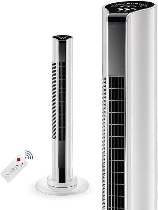 Ventilador de torre sin aspas oscilante con control remoto ...
