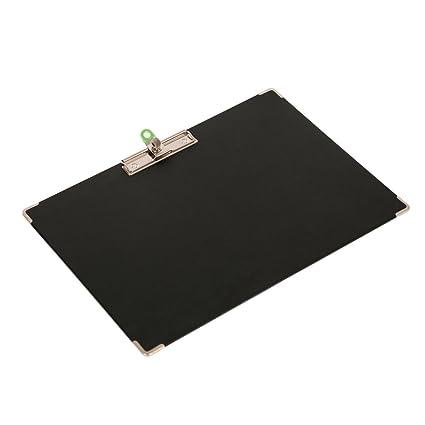 xingema 2pcs sujetapapeles a Alicate A3 ecritoire Planchette respaldo formato A3 robusta y impermeable 438 × 315 mm escritorio negro: Amazon.es: Oficina y ...