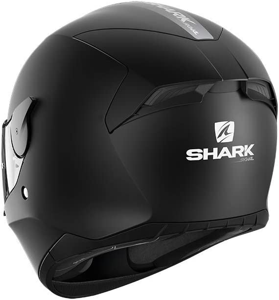 Shark Motorradhelm D-SKWAL 2 BLANK Mat KMA Schwarz L
