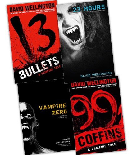 David Wellington A Vengeful Vampire Tale 4 Books Collection Pack Set (The Wellington Collection)