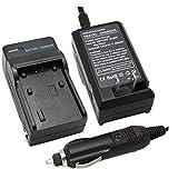 Uupower Battery Charger for HITACHI DZ-GX5020A DZ-MV730A DVD Camcorder CGA-DU07 CGA-DU06 CGA-DU21