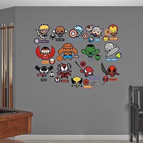 FATHEAD Kawaii Marvel Collection Real Big Wall Decal -
