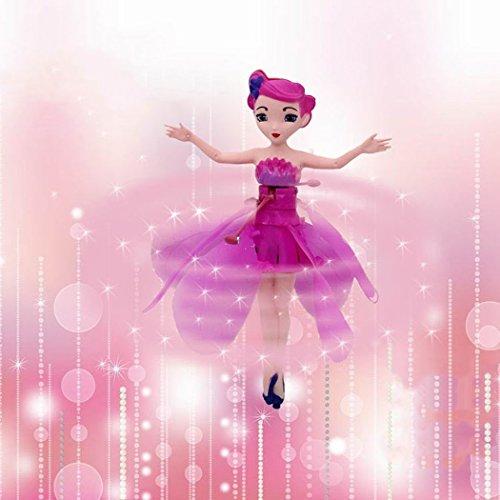 Hotstype flying fairy doll kids flutterbye flower fairies toy for hotstype flying fairy doll kids flutterbye flower fairies toy for boys girls magic princess mightylinksfo