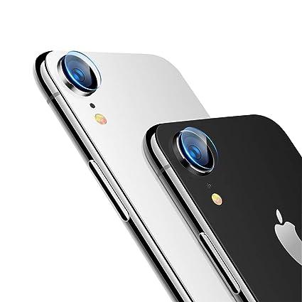 Qimai 2 Stück Panzerglas Für Iphone Xr 61 Kamera Hd Schutzfolie Lens Uv Glas Kinderleicht Anbringen