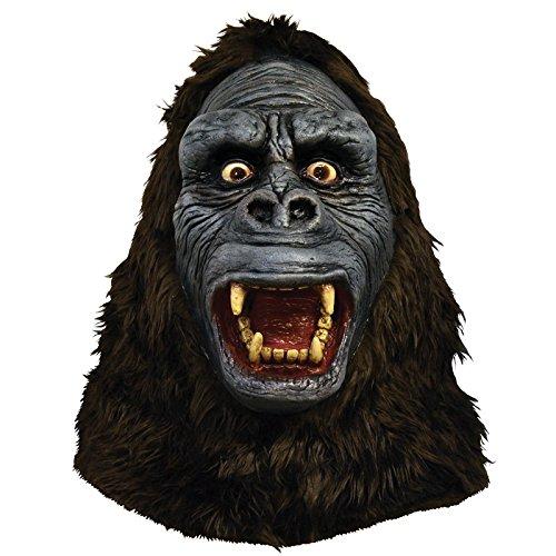 Trick or Treat Studios Men's King Kong Mask, Multi, One Size (King Kong Halloween Costume)