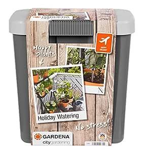 Gardena Riego automático de Vacaciones para regar hasta 36 macetas ...