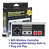 2-Pack NES Controller Wireless.Wireless Game