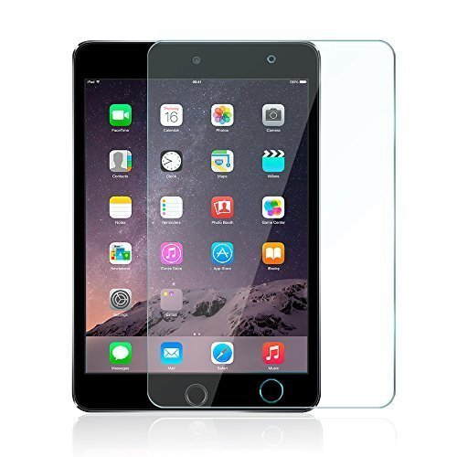 iPad Mini 4 Screen Protector -Anker Premium Tempered-Glass Tablet Screen Protector with Retina Display (Not Compatible with iPad Mini / 2/3) w/ (Anker Ipad Mini 3 Case)