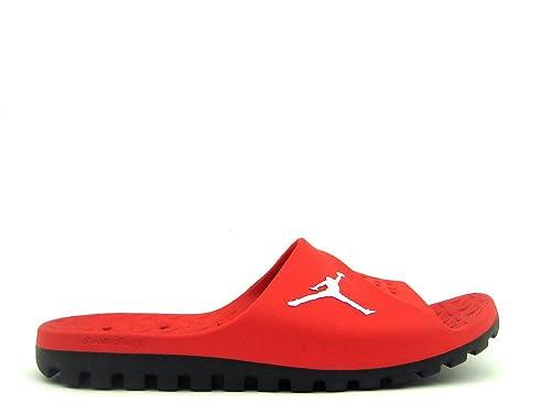 7a97e957a Nike Men s Jordan Super Fly Team Slide University Red Black White 12 ...