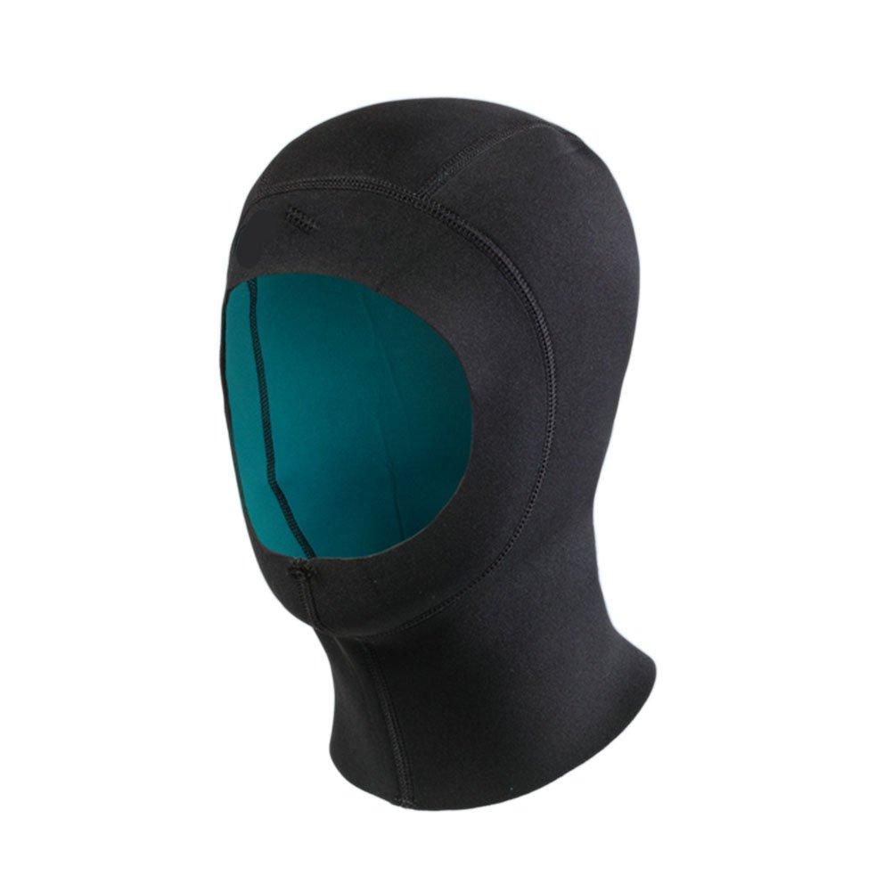 Hzjundasi Neopreno 1.5mm Elástico Buceo gorra capucha Navegar Sombrero Bucear Nadar Agua Deportes Calentar(50-54cm) Ltd.