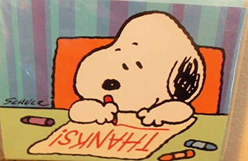 Hallmark Peanuts Baby Snoopy Package 10 Thank You Cards / Notes - - Thank You Snoopy