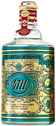 4711 by Muelhens Eau de Cologne Splash, Unisex 10 oz (Pack of 4)
