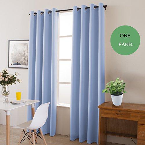 light blue curtains 108 - 6