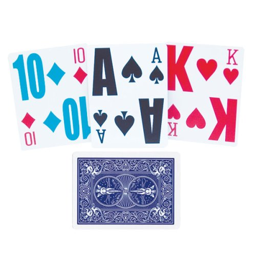 Low Vision Playing Cards by MAGNIFYING AIDS