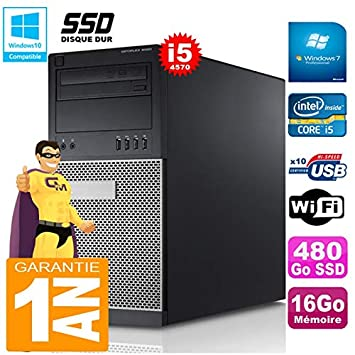 Dell PC Tower 9020 Core i5 - 4570 Memoria 16 GB Disco SSD de 480 ...