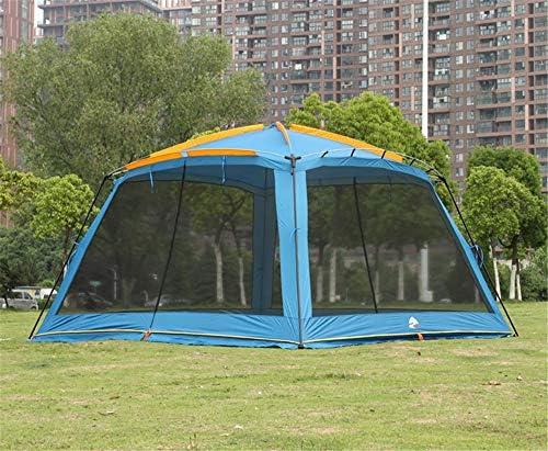 ZXCVBW Single Layer Mesh Pergola Outdoor Sonnenschutz Zelt/Garten Laube/Multiplayer Freizeit Party Camping Zelt/Markise Shelter, Blau: Amazon.es: Deportes y aire libre