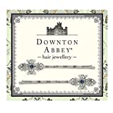 Downton Abbey® Sapphire Blue & Diamond-like Crystal Silver Tone Bobby Pin Fastener