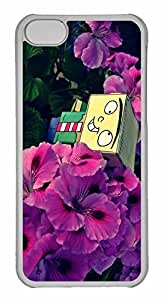 iPhone 5C Case, Personalized Custom Ed Cube for iPhone 5C PC Clear Case