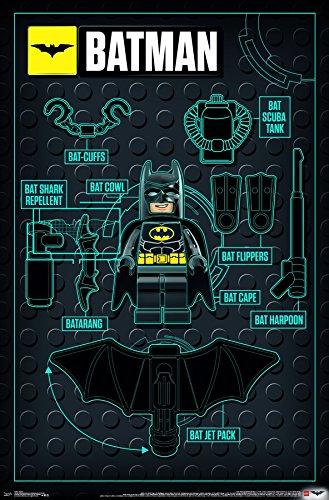 lego batman poster. Black Bedroom Furniture Sets. Home Design Ideas