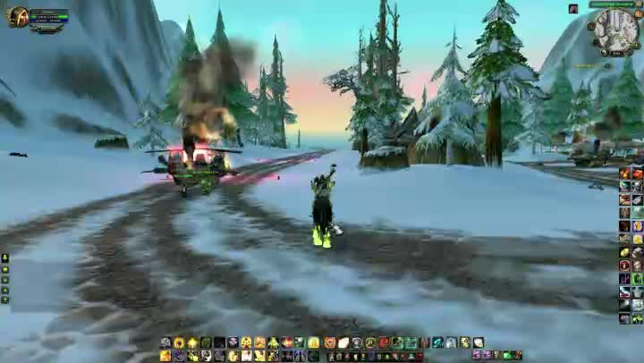 Thank you landing strip at iron forge wow