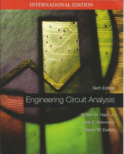 Engineering Circuit Analysis: SIXTH EDITION