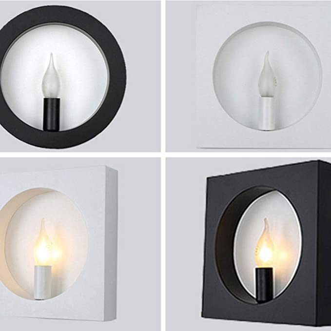 Bedside Hotel Murale Simple Drq Moderne Applique Lampe Led Creative vm0y8ONnw