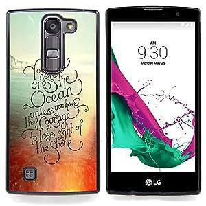 """For LG G4c Curve H522Y ( G4 MINI , NOT FOR LG G4 ) Case , Sunset Ocean Surf Tabla de Surf Verano"""" - Diseño Patrón Teléfono Caso Cubierta Case Bumper Duro Protección Case Cover Funda"""