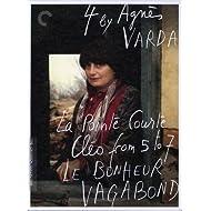 Four by Agnes Varda: (La Pointe Courte / Cleo from 5 to 7 / Le bonheur / Vagabond)