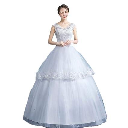 Vestido de dama de honor de la boda Sin mangas de encaje ...