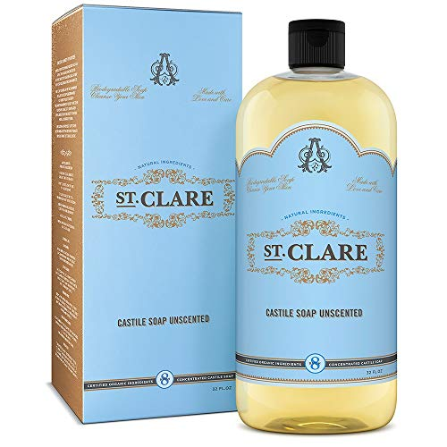 St Clare Castile Soap Unscented product image